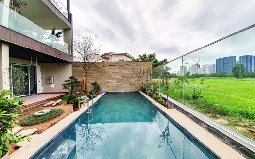 Furnished house in Ciputra with swimming pool and open view