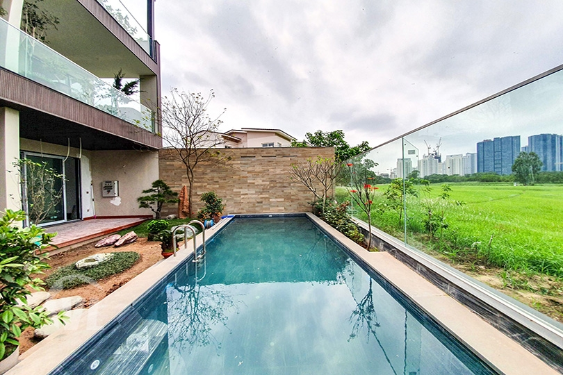 222 Furnished house in Ciputra with swimming pool and open view