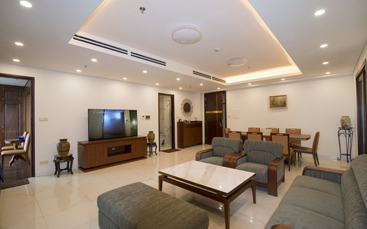 Large 2 bedrooms apartment to lease in Aqua Central in Hanoi