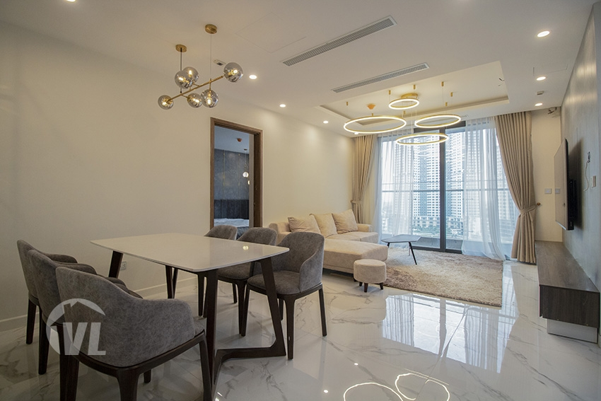 222 Modern good quality 3 bedroom apartment for rent in Sunshine City