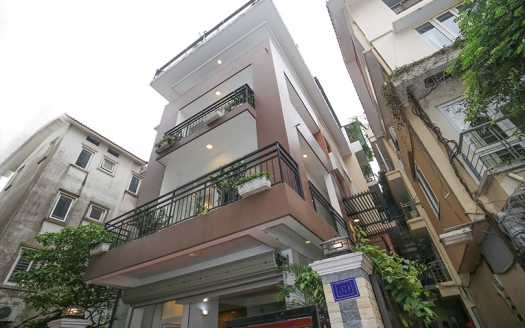 Modern furnished pool house to lease in the heart of Tay Ho Hanoi