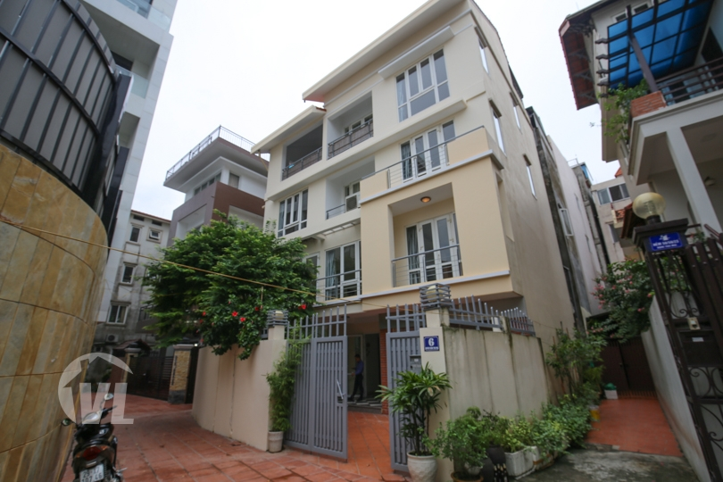 222 Modern house to rent in Tay Ho close to the West Lake 4 beds 4 baths