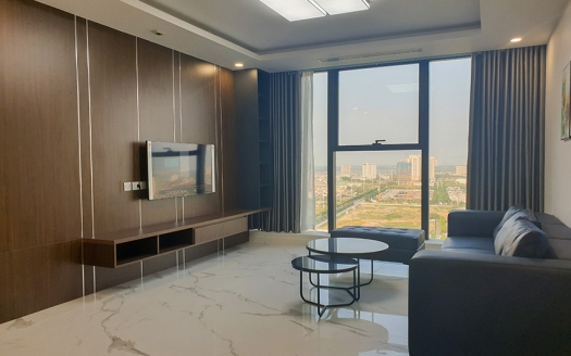 Open view Brand-new 3 bedroom apartment in S4 Sunshine City Hanoi
