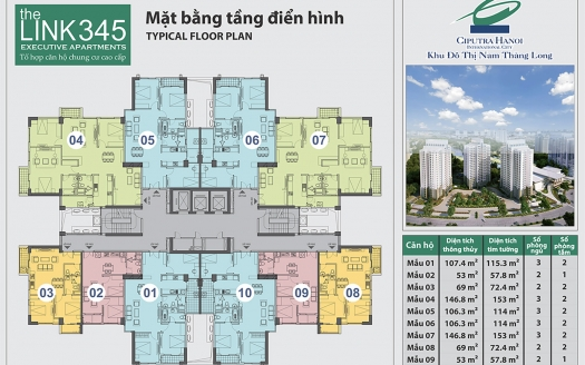 Typical Floor Plan The Link345 copy