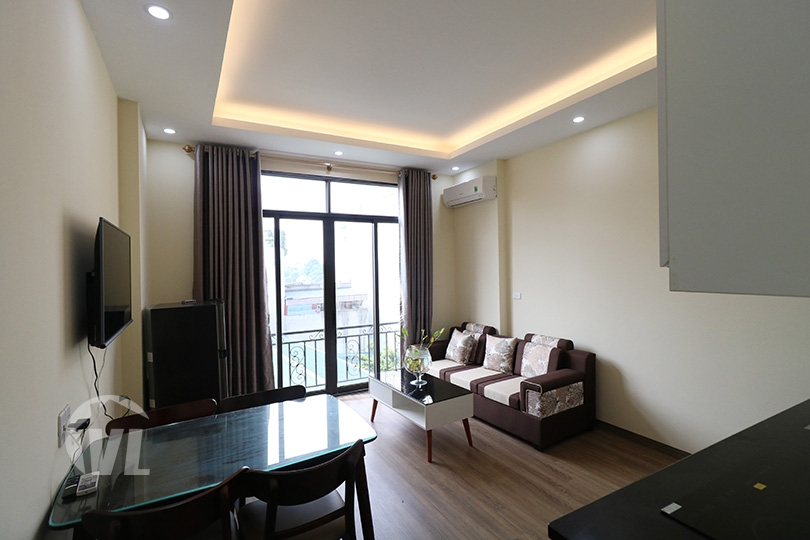 222 Modern Cheap rent 1 bedroom apartment for rent in Vu Mien Tay Ho