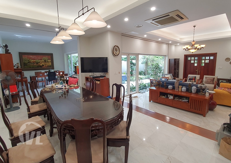 333 Modern furnished 5 beds villa to lease in Tay Ho district