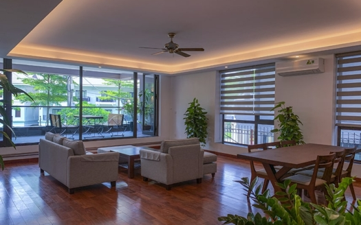 Brand-new 3 beds apartment with terrace in Tay Ho