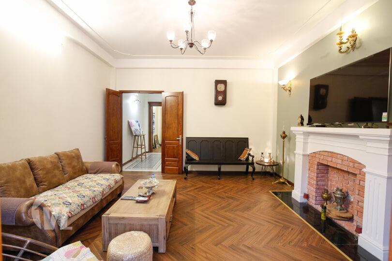 333 Living interior of apartment in vietnam