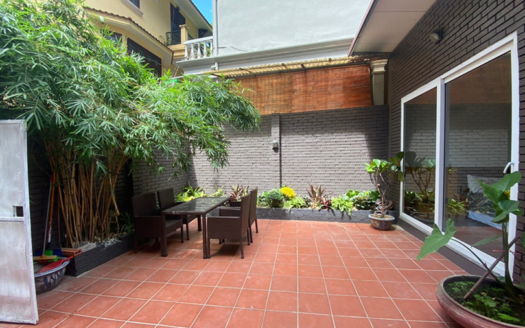Nice yard 1 bedroom apartment for rent in to ngoc van