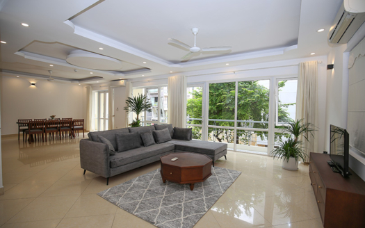 Spectacular furnished 4 beds house to lease in Tay Ho near the West Lake