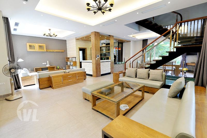 222 Detached house to rent in Vinhomes Riverside Hanoi