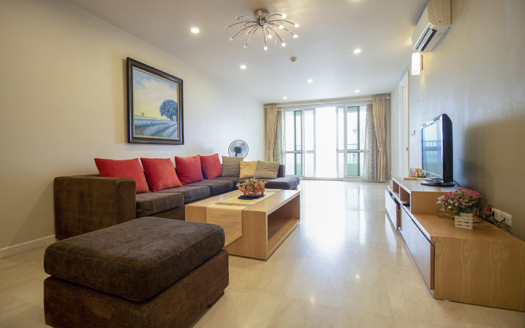 Modern furnished 3 bedroom apartment at P tower Ciputra